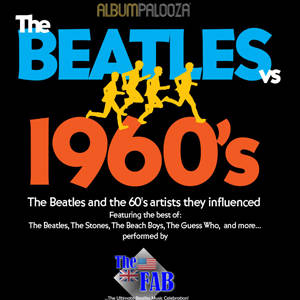 southern utah weekend events guide 60s vs Beatles Flyer