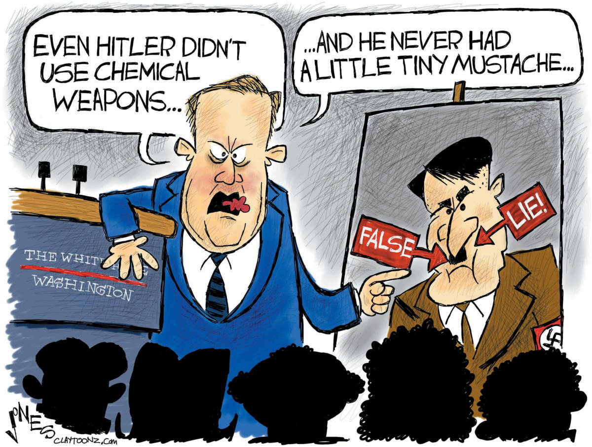 """CARTOON: """"That's A Spicy History Lesson"""""""