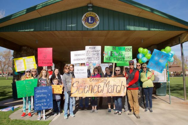 Two hundred march for science in Cedar City