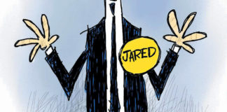 "CARTOON: ""Jared's Back Channel"""