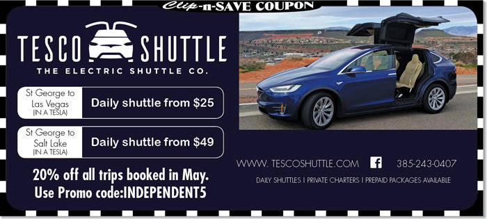 Utah Shuttle Service Tesco Electric Shuttle