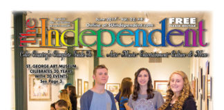 The Independent June 2017 (.PDF) featuring the St. George Art Museum
