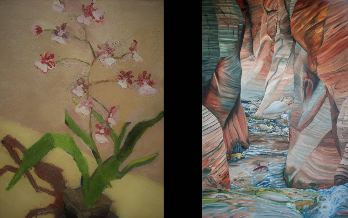 Arrowhead Gallery ETC features Jamie Robertson and Wanda Schaertel in June