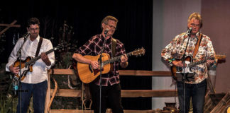 Joshua Creek performs at Bumbleberry Theatre