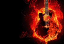southern utah weekend events burning guitar