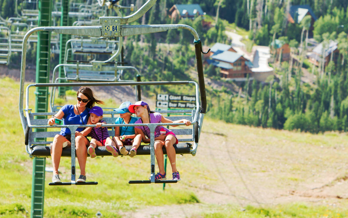 Brian Head Resort reopens after fire