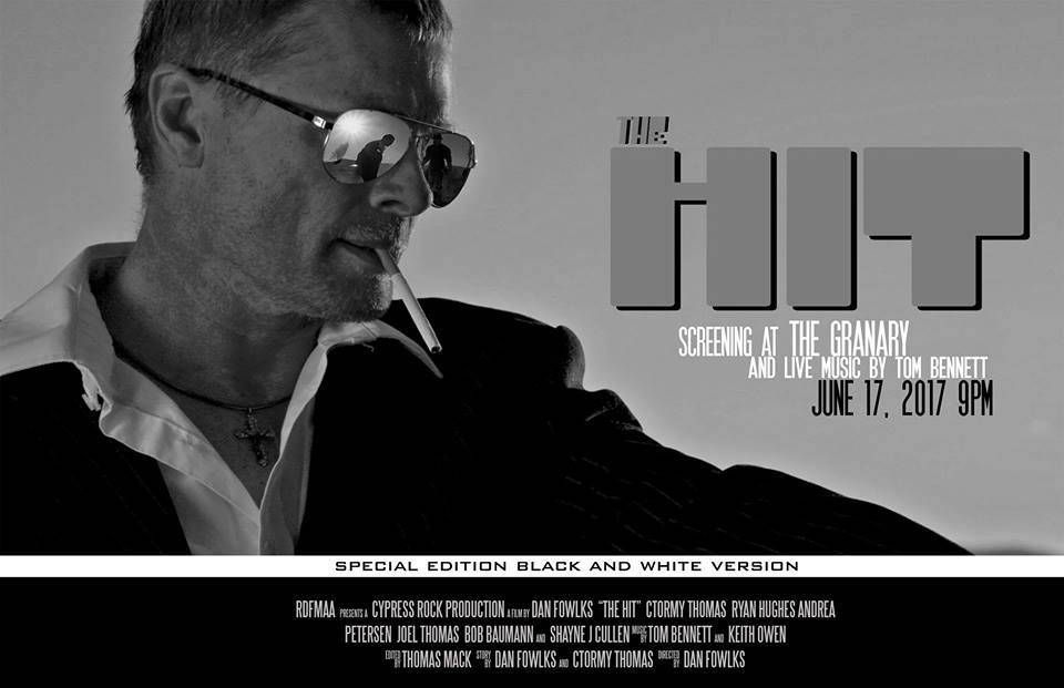 "Special black-and white-screening of ""The Hit"" at The Granary"