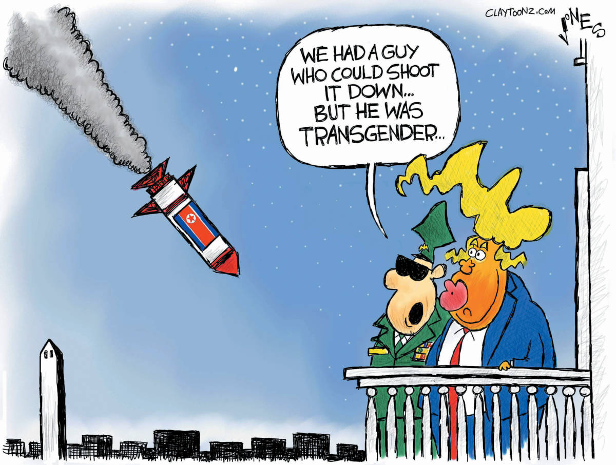 "CARTOON: ""North Korea Missile"""