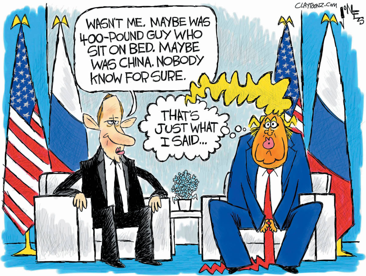 "CARTOON: ""Putin Confirmation"""