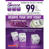 southern utah weekend events Bunco_February_25_Poster
