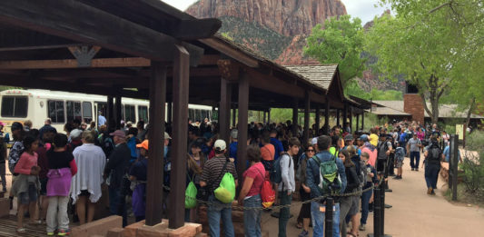 Zion National Park's preliminary alternative concepts ready for review and comment