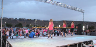 Dixie Regional hosts National Dance Day event