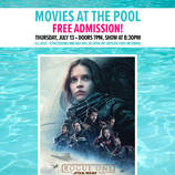 southern utah weekend events Movies at the pool - Rogue 1 poster