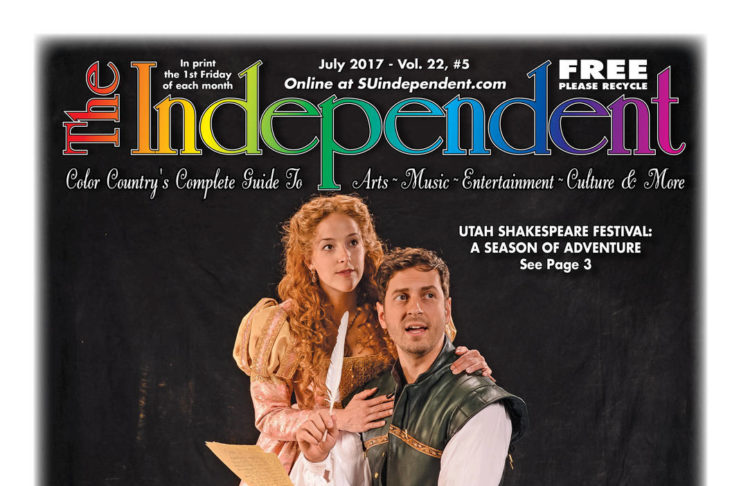 The Independent July 2017 (.PDF) featuring Utah Shakespeare Festival