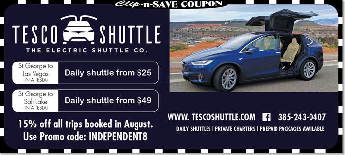 St george shuttle coupons