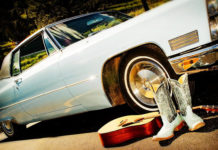southern utah weekend events Classic Car Blue Baby Blue Boots Guitar Light Blue