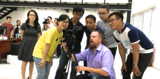 DSU faculty members teach documentary film seminar in Vietnam