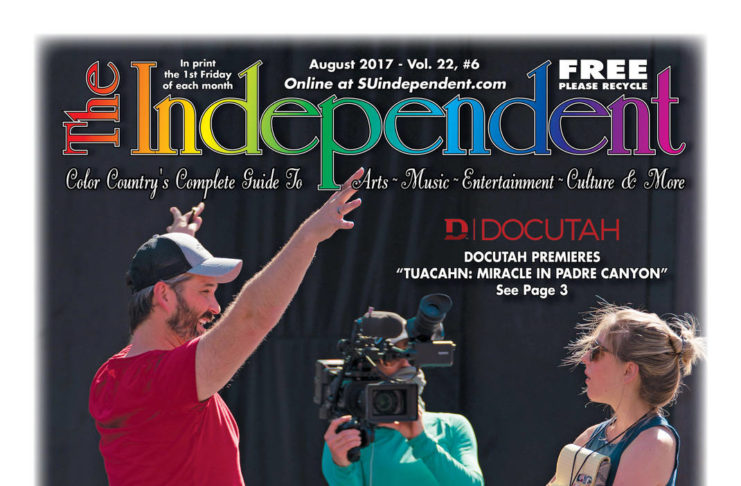 The Independent August 2017 (.PDF) featuring DOCUTAH