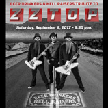 southern utah weekend events ZZ Top Tribute flyer Sep 2017