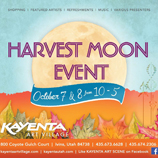 southern utah weekend events Harvest moon event