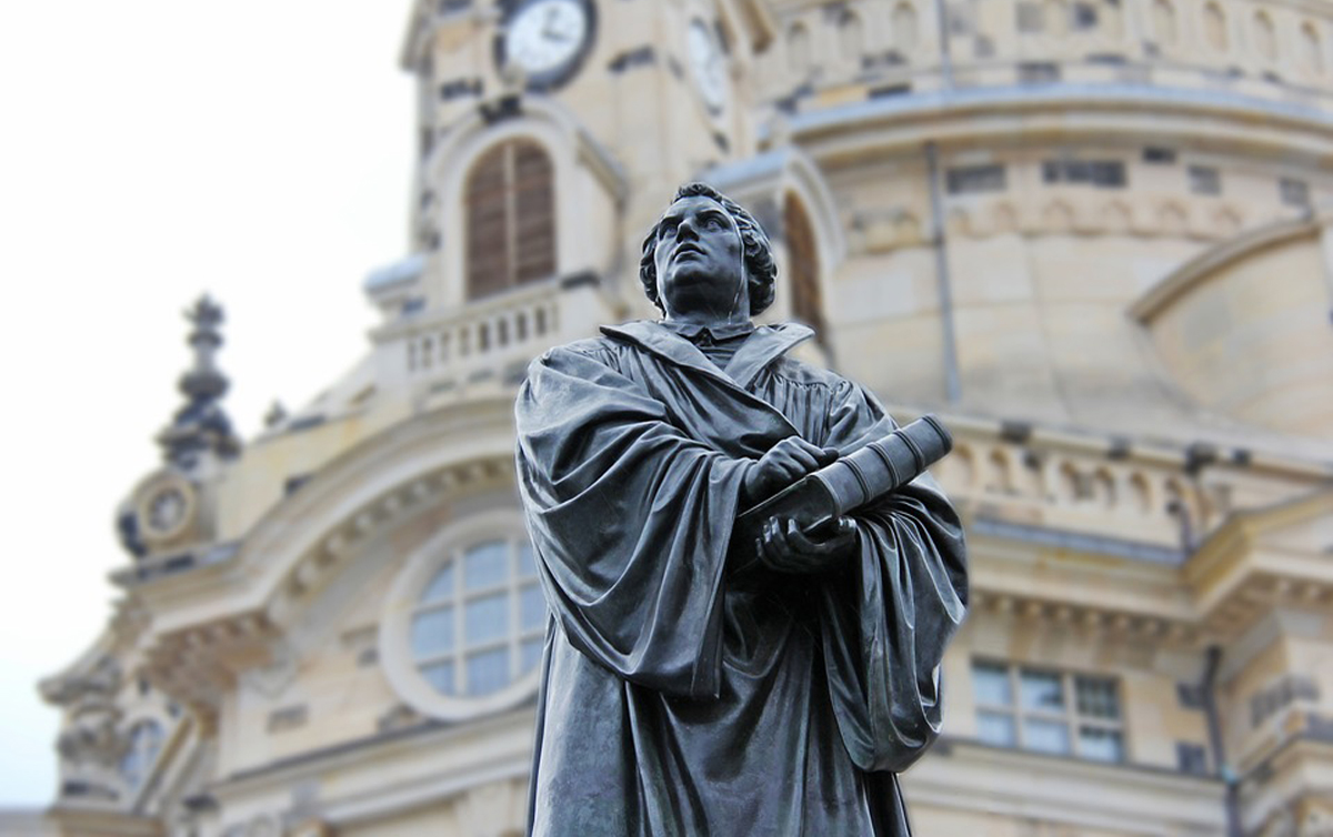 Craig Harline gives lecture on Martin Luther on 500th anniversary of the Reformation