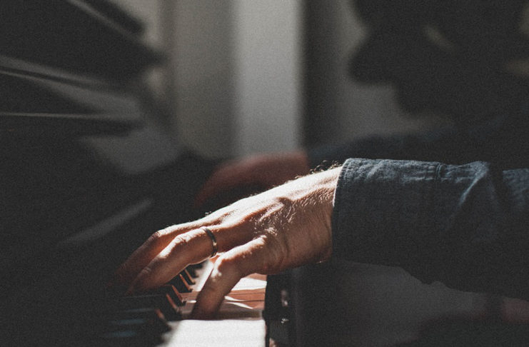 Italian pianist Niccolo Ronchi performs in St. George