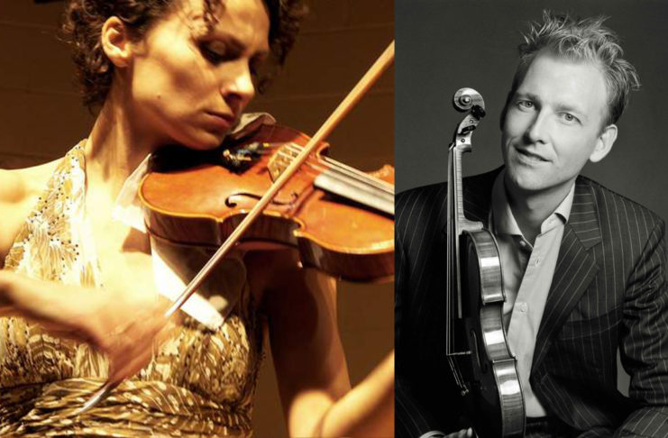 Dr. Hasse Borup and Dr. Kasia Sokol-Borup present a day of strings at SUU