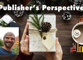 Publisher's Perspective: Give to yourself this holiday season