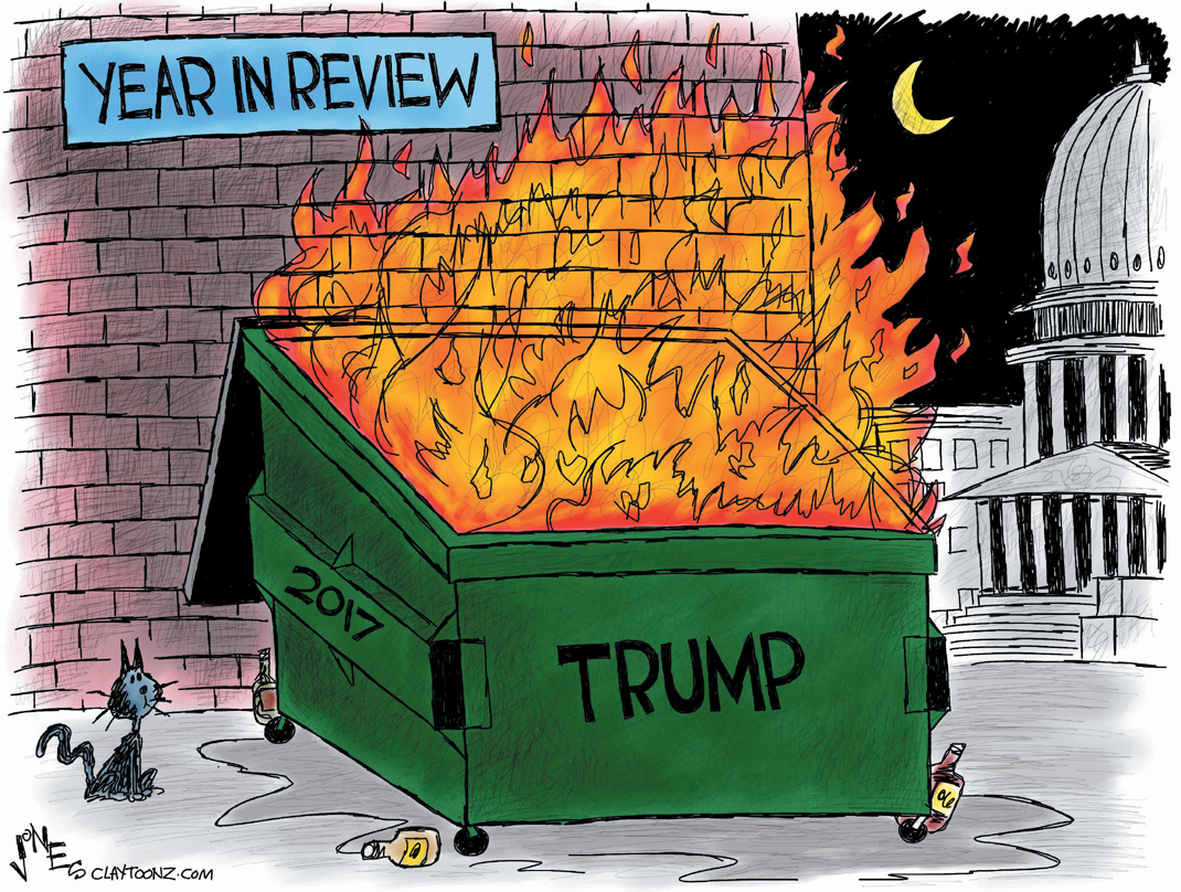 "CARTOON: ""Year In Review"""