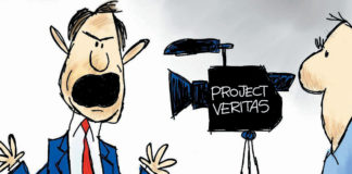 "CARTOON: ""O'Keefe's Petard"""