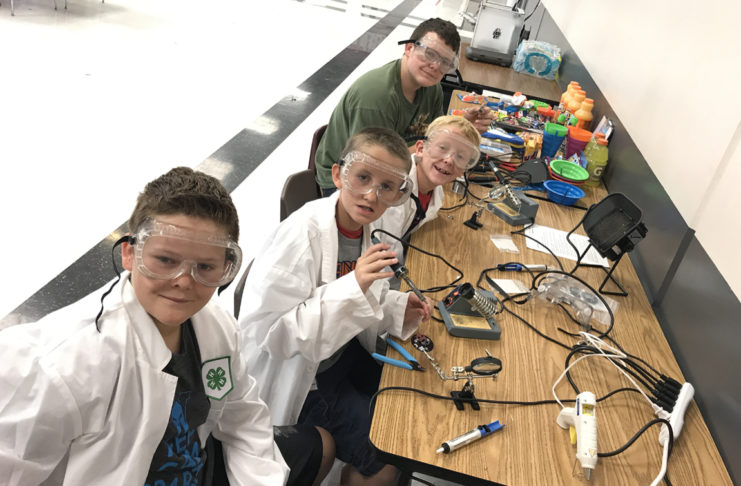 Coral Canyon Elementary School selected as first USU Extension 4-H STEM partner school