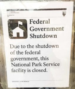 Zion National Park remains open during government shutdown but with limited services
