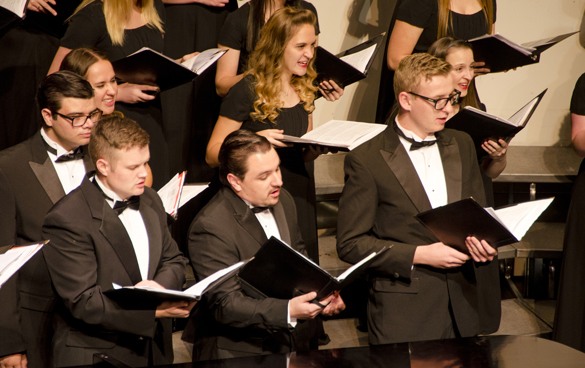 Area high school students team up with SUU for combined honor choir