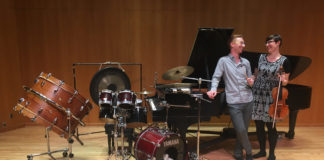 SUU's Satellite Salon Series hosts Molly Gebrian and Danny Holt