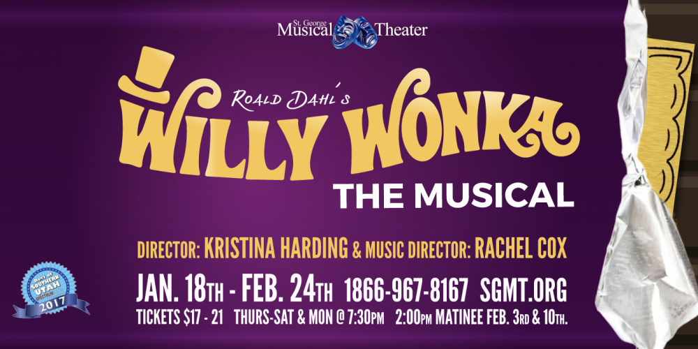 """St. George Musical Theater's """"Wonka"""" promises to be an everlasting good time"""