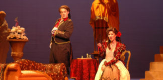 Utah Opera resident artists perform in Iron and Piute County schools
