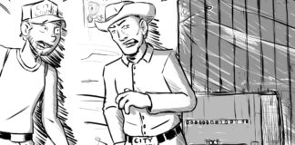 "Cartoon: ""Vegas, Baby"" By Chad Ginsburg, Skroder Comics"