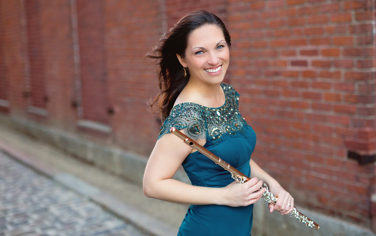 SUU welcomes flutist Dr. Angela Heck Mueller, who melds a beautiful passion for music, education, and talent into memorable performances.