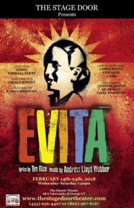"""The Stage Door brings """"Evita"""" to The Electric Theater just in time for Valentine's Day"""