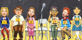 "Dixie High School presents ""The 25th Annual Putnam County Spelling Bee"""