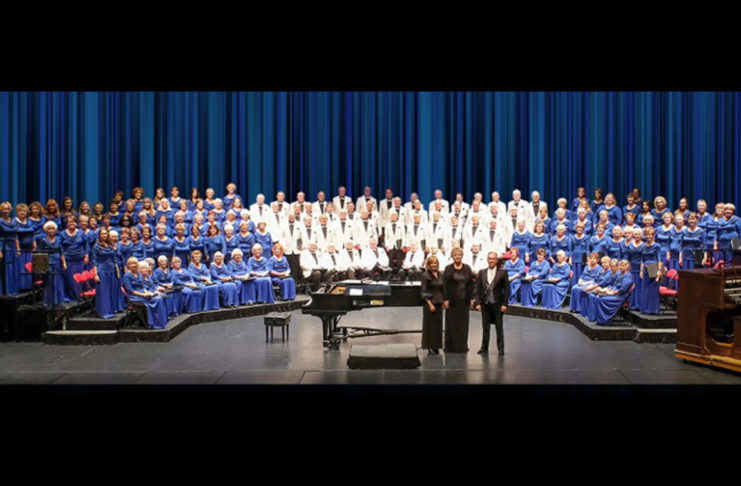 """The Southern Utah Heritage Choir will present its annual Spring Concert, """"Be Thou My Vision,"""" featuring tenor soloist Jordan Bluth at the Cox Auditorium"""