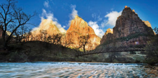 Zion Natl Park Forever Project support for 2018 ensures park's margin of excellence