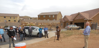 Local families build own homes through Mutual Self-Help Housing and Self-Help Homes sweat equity project