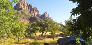 Zion National Park's South Campground now accessible by online reservation only