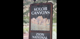 Kolob Canyons closes for construction projects