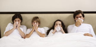 Tips for stopping the spread during cold and flu season