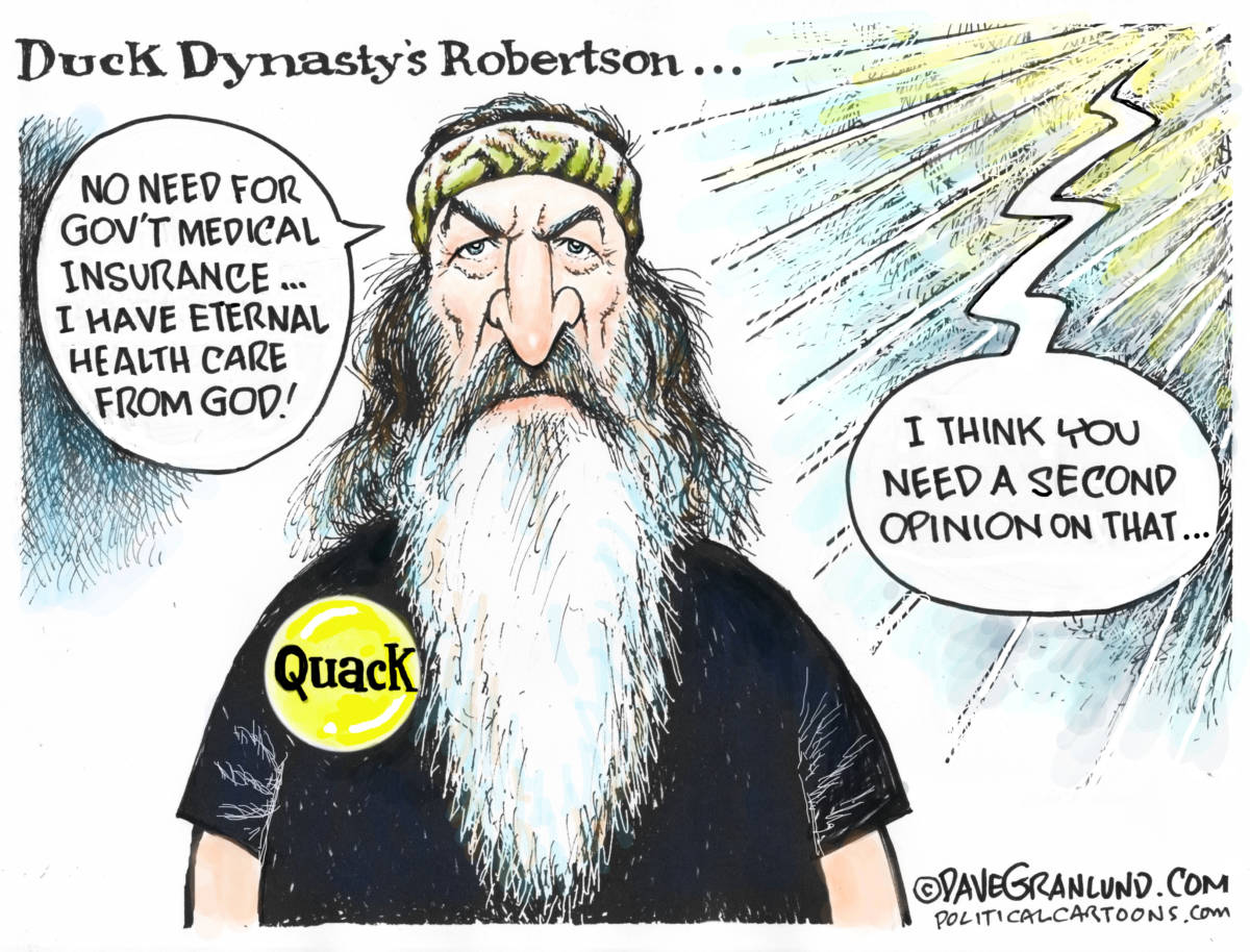 Duck Dynasty and Gov't health care - The Independent | St